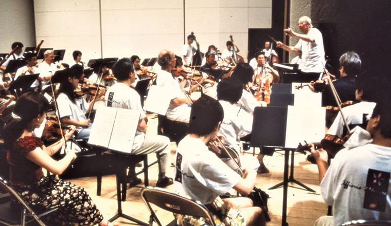 「アフィニス夏の音楽祭」オーケストラレッスン