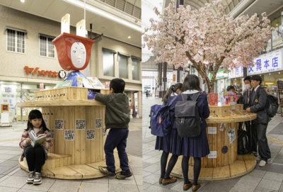 災害時も利用できる無料充電ステーション「鬼桜」と「ONICO」