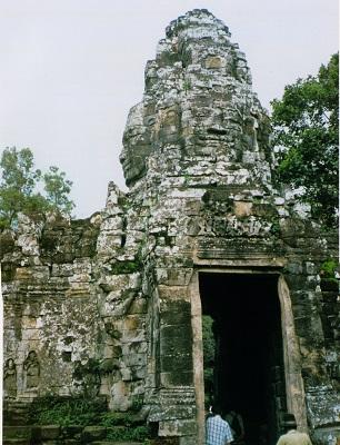 アンコール遺跡 バンテアイ・クディ寺院