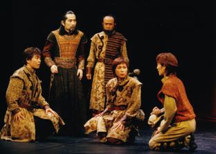 2003年「シンベリン」公演より (c)石川純