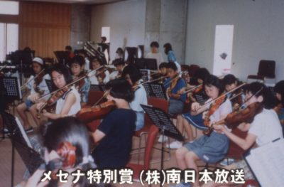MBCユースオーケストラ練習風景