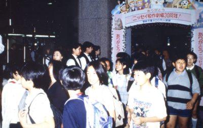 ニッセイ名作劇場30周年の様子