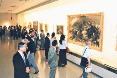 「イギリス・フランス近代名画展」奈良県立美術館