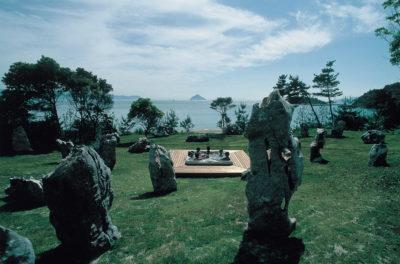 第1回「ベネッセ賞」を受賞した蔡國強の作品