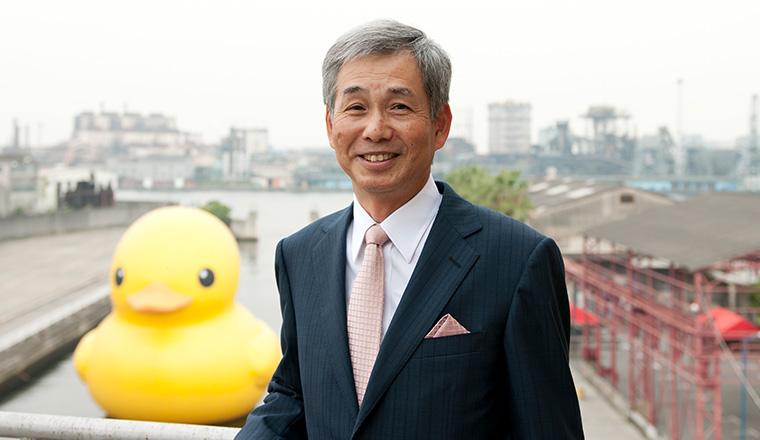 芝川能一 千島土地株式会社代表取締役社長